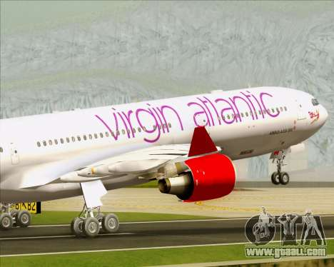 Airbus A330-300 Virgin Atlantic Airways for GTA San Andreas engine