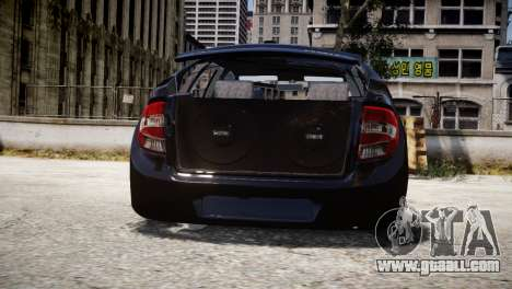 Lada Granta for GTA 4 inner view