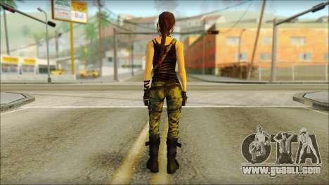 Tomb Raider Skin 4 2013 for GTA San Andreas second screenshot