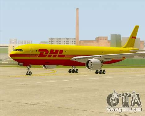 Airbus A330-300P2F DHL for GTA San Andreas left view