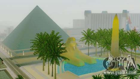 New textures of the pyramid in Las Venturas for GTA San Andreas forth screenshot