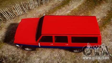 GTA V Declasse Rancher XL for GTA 4 right view