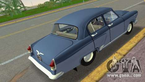 GAZ-21R Volga 1965 for GTA Vice City back left view