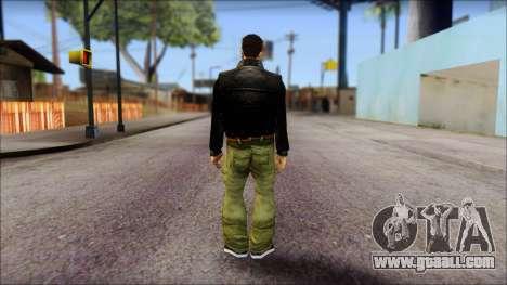 GTA 3 Claude Ped for GTA San Andreas second screenshot