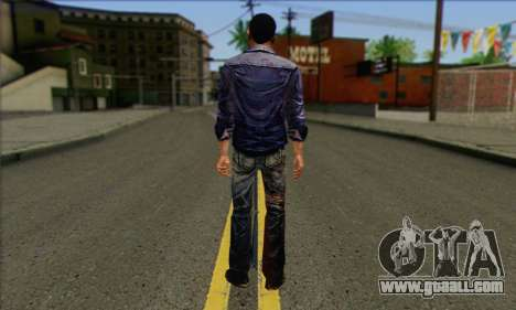 Lee from Walking Dead for GTA San Andreas second screenshot