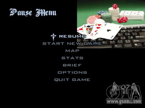 Menu Gambling for GTA San Andreas twelth screenshot