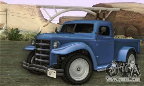 Bravado Duneloader Classic 1.0 (IVF) for GTA San Andreas