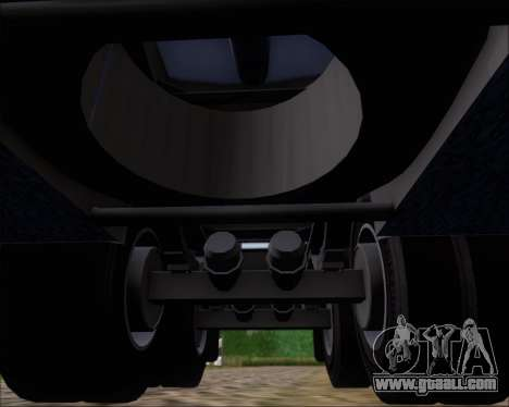 Trailer tank Carro Copec for GTA San Andreas bottom view