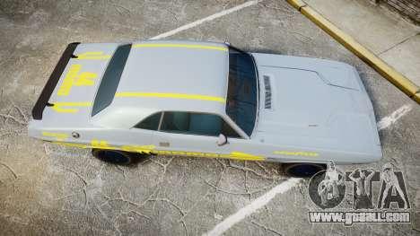 Dodge Challenger 1971 v2.2 PJ4 for GTA 4 right view