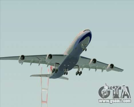 Airbus A340-313 China Airlines for GTA San Andreas side view