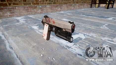 Gun Kimber 1911 Cherry blossom for GTA 4