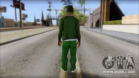 New CJ v4 for GTA San Andreas second screenshot