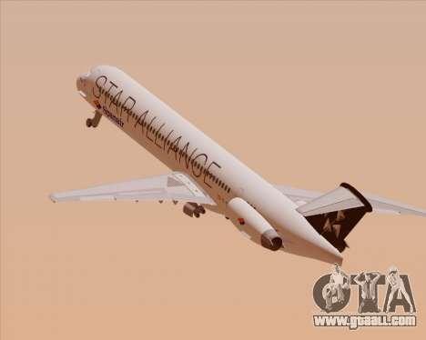 McDonnell Douglas MD-82 Spanair for GTA San Andreas engine