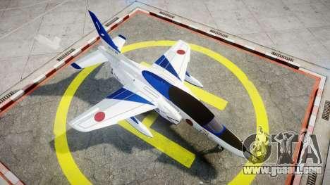Kawasaki T-4 for GTA 4 right view