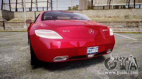 Mercedes-Benz SLS AMG [EPM] for GTA 4 back left view