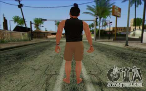 Fabien LaRouche from GTA 5 for GTA San Andreas second screenshot