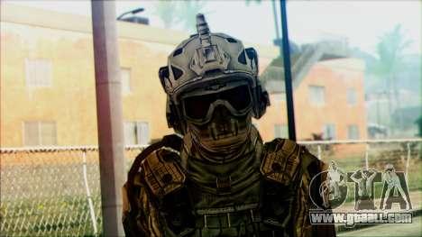 Soldiers of team Phantom 3 for GTA San Andreas third screenshot