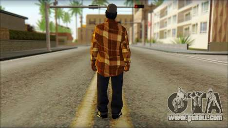 Eazy E Lumberjack Skin for GTA San Andreas second screenshot