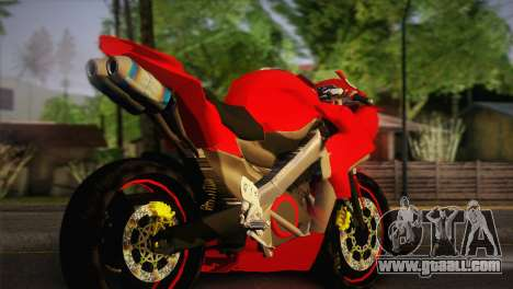 Yamaha New V-Ixion Lightning Concept Variasi for GTA San Andreas left view