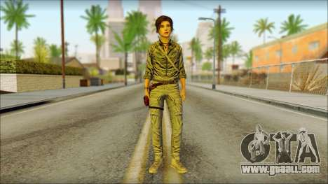 Tomb Raider Skin 3 2013 for GTA San Andreas