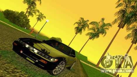 Nissan Silvia S13 RB26DETT Black Revel for GTA Vice City