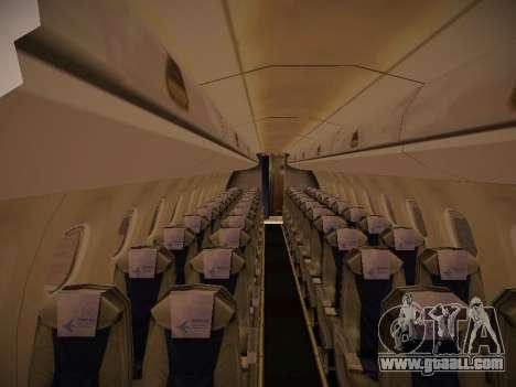 Embraer E190 Azul Tudo Azul for GTA San Andreas back view