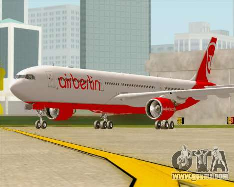 Airbus A330-300 Air Berlin for GTA San Andreas left view