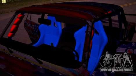 VAZ 2105 Drift for GTA San Andreas inner view