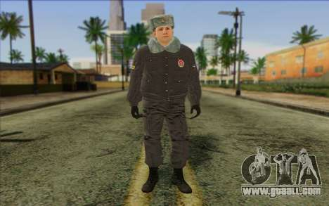 Police In Russia's Skin 4 for GTA San Andreas
