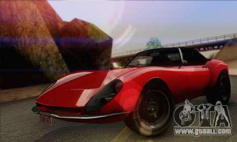 Grotti Stinger 1.0 (IVF) for GTA San Andreas