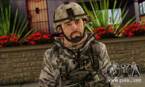 Task Force 141 (CoD: MW 2) Skin 2 for GTA San Andreas third screenshot