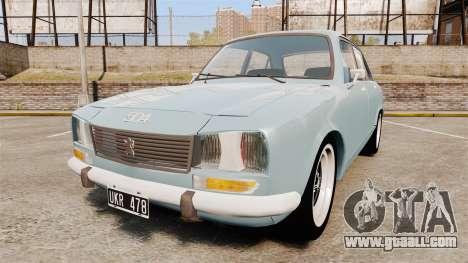 Peugeot 504 for GTA 4