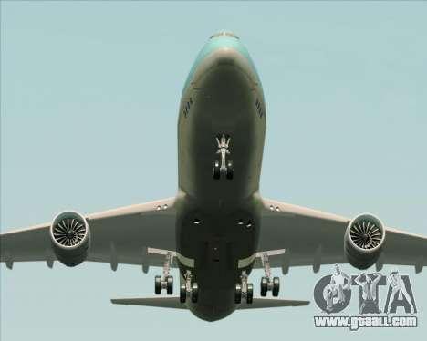 Boeing 747-8 Cargo Korean Air Cargo for GTA San Andreas engine