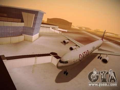 Airbus A340-600 Qatar Airways for GTA San Andreas