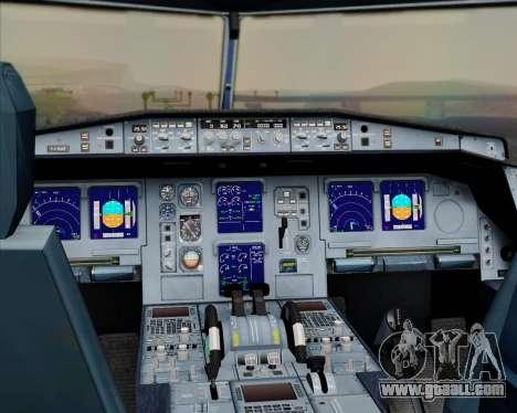 Airbus A330-300 Qatar Airways for GTA San Andreas interior