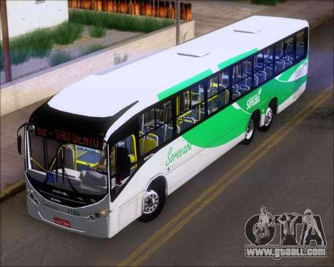 Comil Svelto BRT Scania K310IB 6x2 Sorocaba for GTA San Andreas inner view