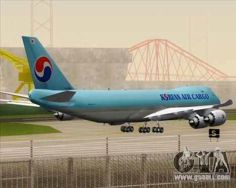 Boeing 747-8 Cargo Korean Air Cargo for GTA San Andreas