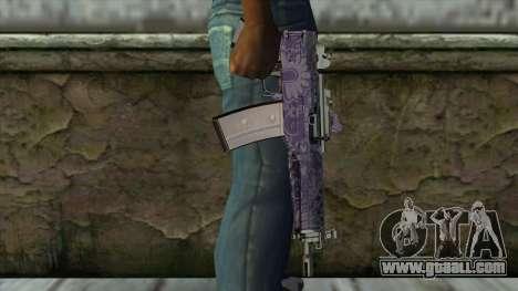 Graffiti MP5 for GTA San Andreas third screenshot