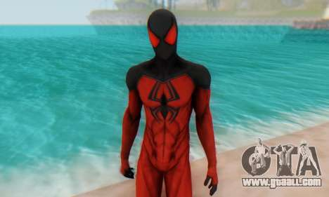 Skin The Amazing Spider Man 2 - Scarlet Spider for GTA San Andreas