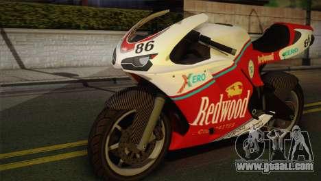 Bati RR 801 Redwood for GTA San Andreas