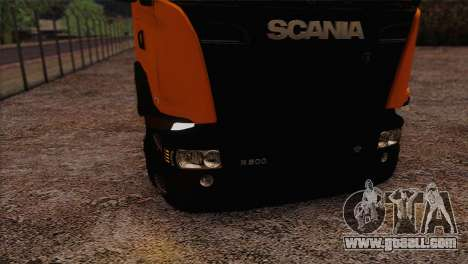 Scania R500 Streamline for GTA San Andreas right view