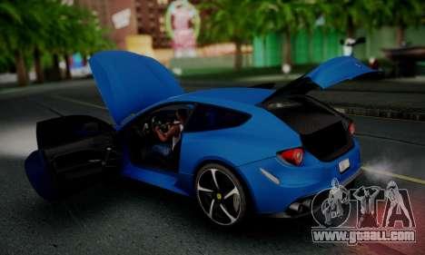 Ferrari FF 2012 for GTA San Andreas upper view
