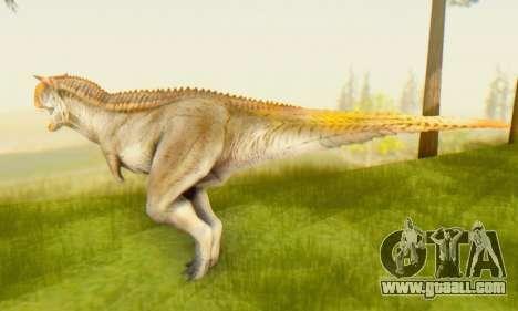 Carnotaurus for GTA San Andreas second screenshot