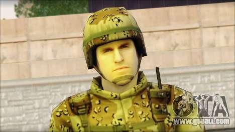 Navy Seal Soldier for GTA San Andreas third screenshot