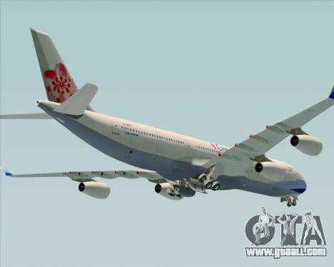 Airbus A340-313 China Airlines for GTA San Andreas