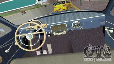 GAZ-21R Volga 1965 for GTA Vice City side view