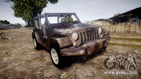 Jeep Wrangler Unlimited Rubicon for GTA 4