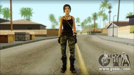 Tomb Raider Skin 4 2013 for GTA San Andreas