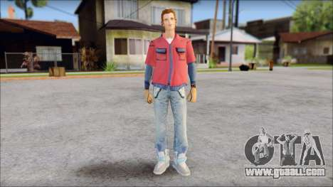 Marty with No Hat 2015 for GTA San Andreas