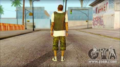 New Grove Street Family Skin v5 for GTA San Andreas second screenshot
